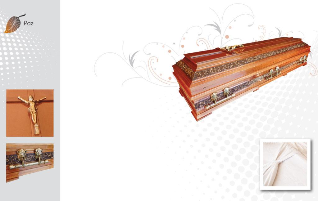 caixão funerário paz-S03-1080